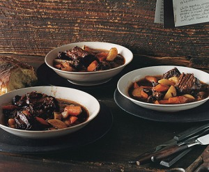 Beef Stew with Potatoes & Carrots (Epicurious)Recipe below