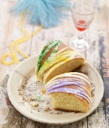 King Cake from Chef David Guas of Bayou Bakery. Click here for order information