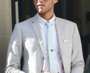 Seersucker suit (photo from Fashion Update)
