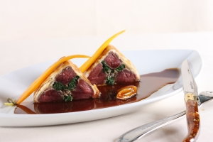 Lamb Tenderloin in Phyllo