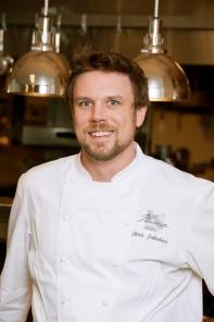 Plume's award-winning chef, Chris Jakubiec
