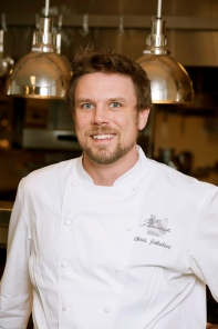 Plume's award-winning chef, Chris Jakubiec