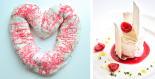 Valentine's King Cake + White Chocolate