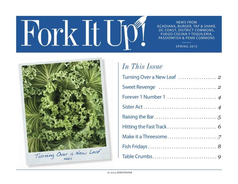 Fork It Up - Spring 2015