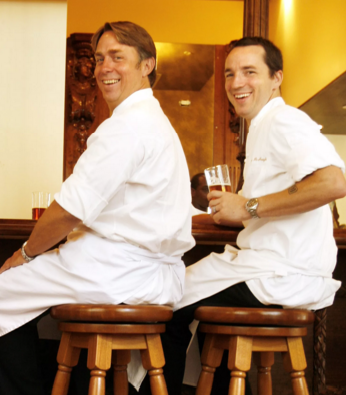 John Besh and Steve McHugh